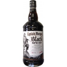Captain Morgan Black Spiced 1L/40%