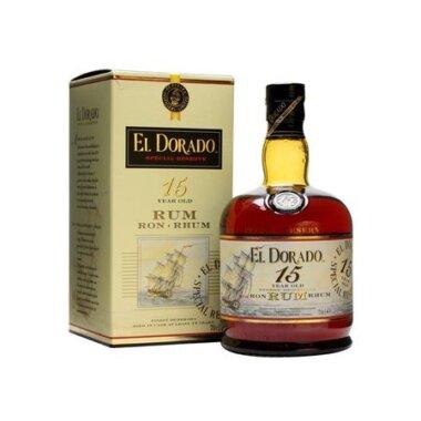 El Dorado 15 Ani Rum Rom