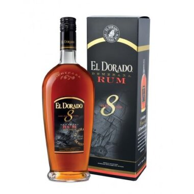 El Dorado 8 Ani Rum Rom