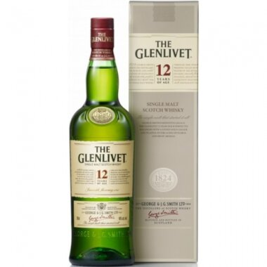 Glenlivet 12 Ani First Fill Single Malt Whisky