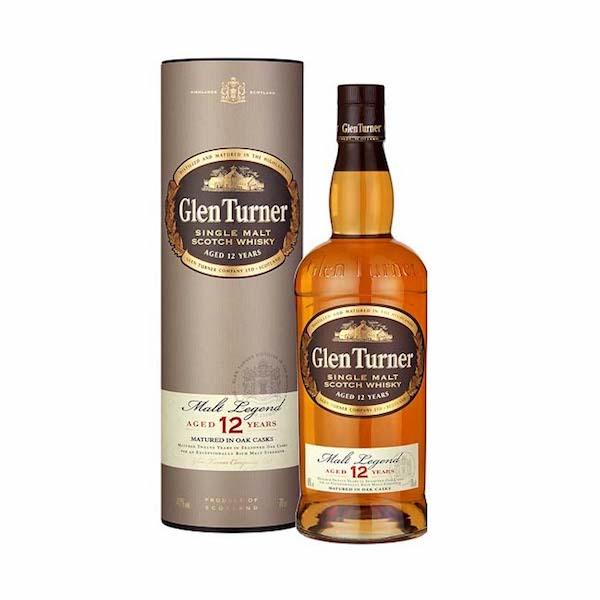 Glen Turner 12 Ani Single Malt Whisky Selected Casks