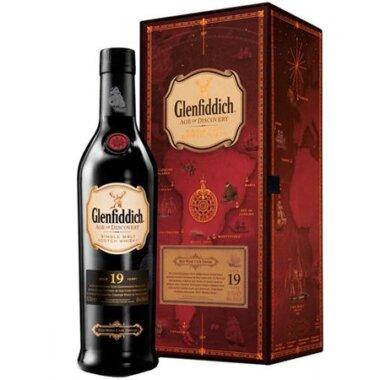 Glenfiddich 19 Ani Red Wine Cask Single Malt Whisky