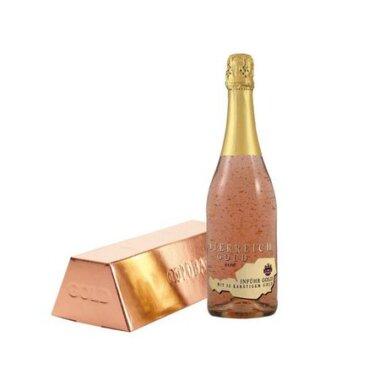 Osterreich Gold Rose Vin Spumant Cu Foita Aur 23k