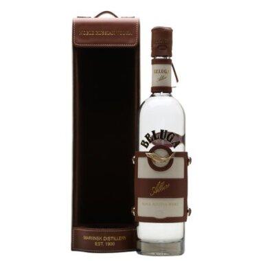 Vodka Beluga Alure Leather Case