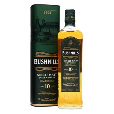 Whiskey Single Malt Bushmills Irish 10 Ani
