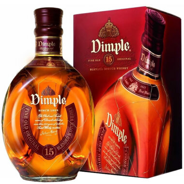 Dimple 15 Ani Blended Scotch Whisky