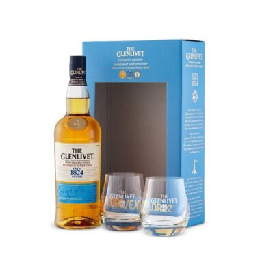 Glenlivet Founder's Reserve Single Malt Whisky Giftbox