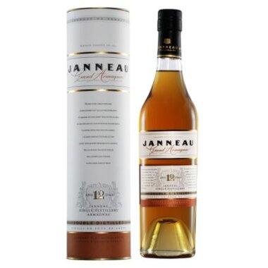 Janneau 12 Ani Armagnac Double Distilled