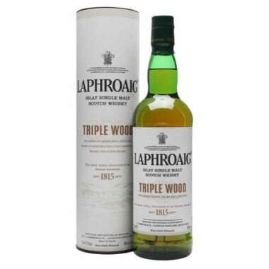 Laphroaig Triple Wood Single Malt Scotch Whisky
