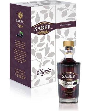Saber Elyzya Premium Lichior Cirese Negre