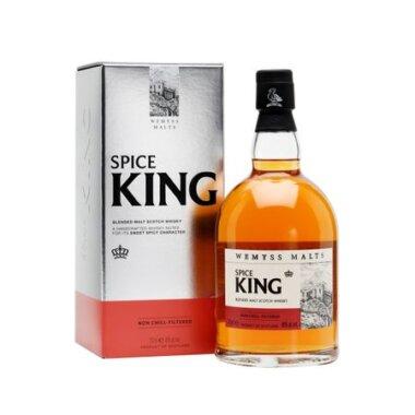 Wemyss Spice King Blended Malt Scotch Whisky