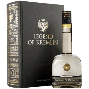 Legend Of Kremlin Black Book Vodka