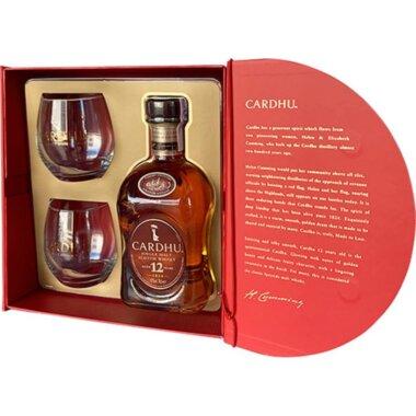 Cardhu 12 Ani Single Malt Whisky Giftbox