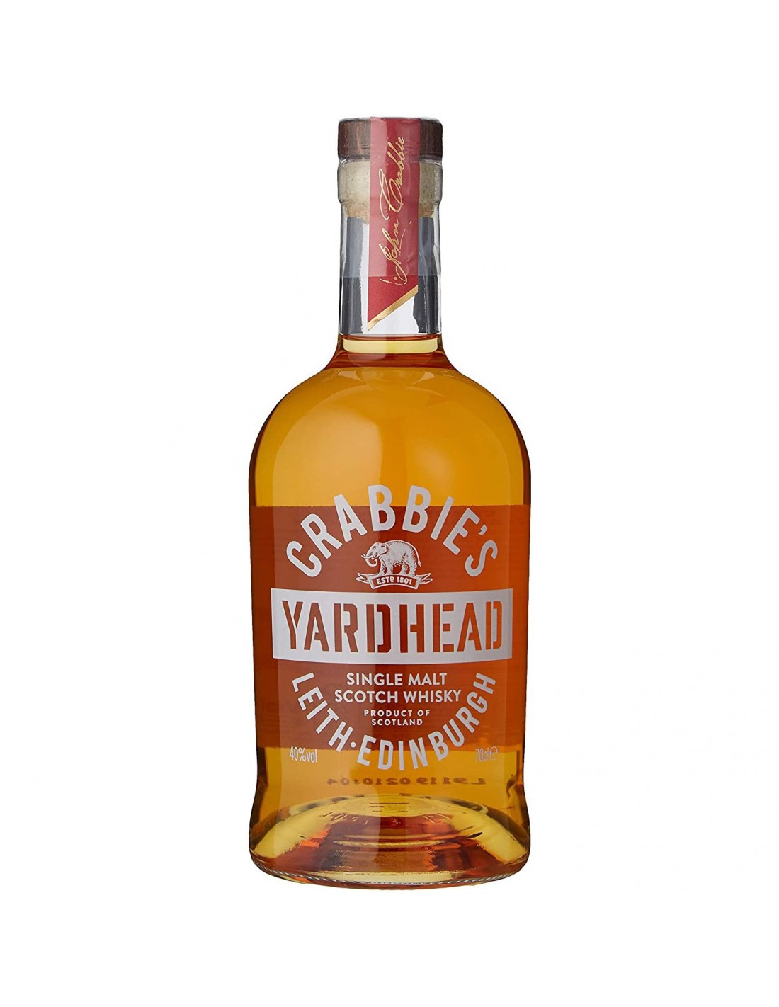 Crabbies Yardhead Single Malt Scotch Whisky
