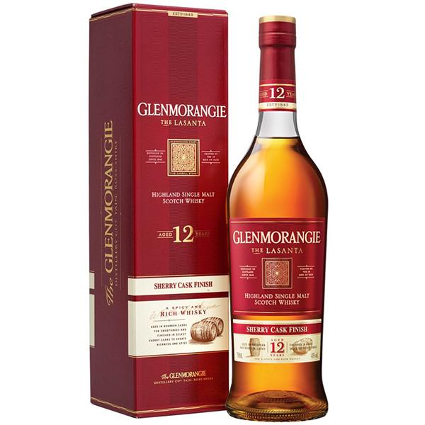 Glenmorangie 12 Ani Lasanta Single Malt Scotch Whisky