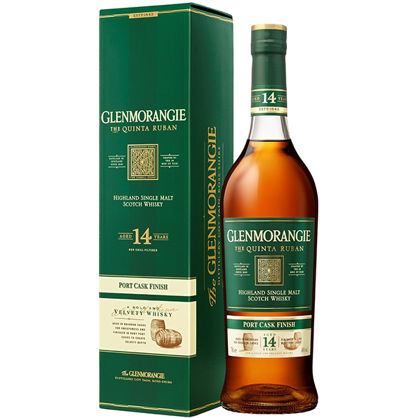 Glenmorangie 14 Ani Quinta Ruban Single Malt Whisky