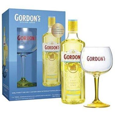 Gordon's Sicilian Lemon Gin Giftpack