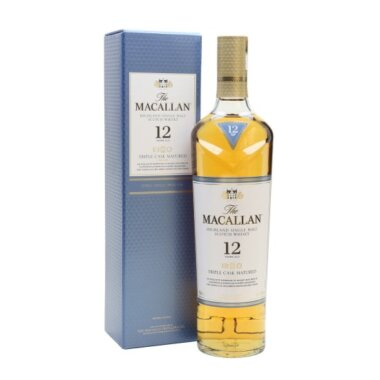 Macallan 12 Ani Triple Cask Single Malt Scotch Whisky